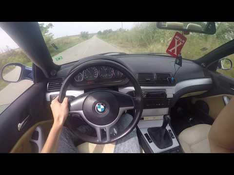 Driving BMW E46 320CI 170hp - POV view