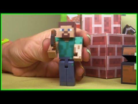 Minecraft xBox Kids ipad apps – Steve's Castle Game Video Demo (xe tải lớn/รถบรรทุกขนาดใหญ่) ABC 123