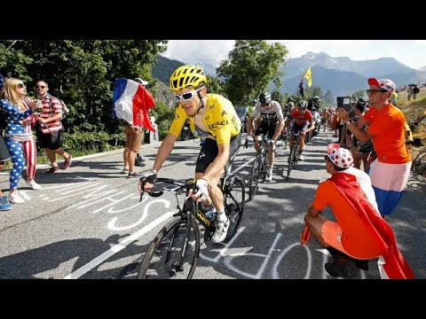 Tour de France: Thomas trumphiert in L'Alpe d'Huez