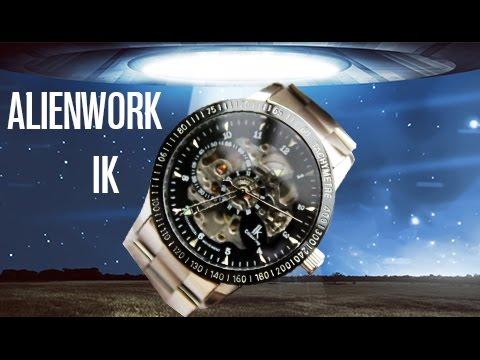 Alienwork IK Automatikuhr oder Alienwürg? Skelett Uhr - Test - Review