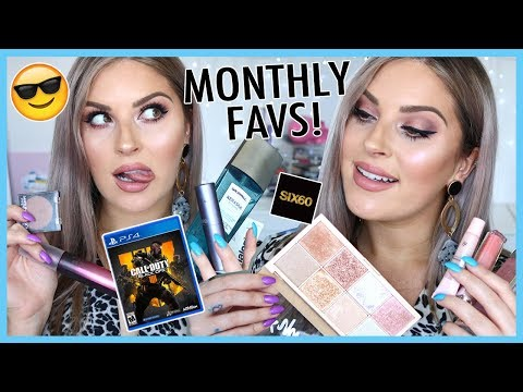 MONTHLY FAVS 💯 Favorite MAKEUP, SONG, GAMES, SKINCARE & MORE!
