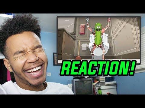 "Rick and Morty Season 3 Episode 3 ""Pickle Rick"" REACTION!"