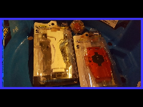Video beyblade burst b 16 red bey Louncher and b 1 11 launcher grip unboxing w/ brunonympha download in MP3, 3GP, MP4, WEBM, AVI, FLV January 2017