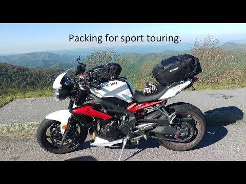 2017 Motorcycle Tour - Packing
