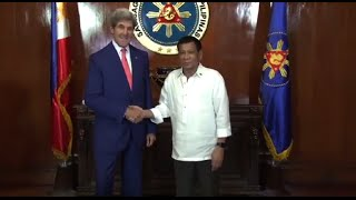 Abella recaps points from Duterte, Kerry courtesy call