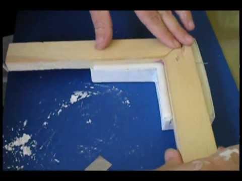 Picture Frame Corner Moulding - Ornate Plaster Positive Molding