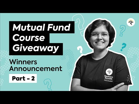 Part 2 of Mutual Fund Course Giveaway | CA Rachana Ranade