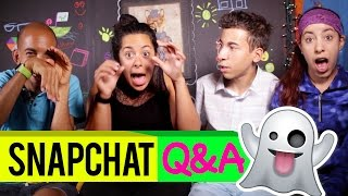 We're answering some more questions from viewers on Snapchat! ★ Don't forget to SUBSCRIBE! bit.ly/SkorySubscribe ▽▼▽▼▽▼▽[ MORE STUFF DOWN HERE ]▼▽▼▽▼▽ ⬅︎ Yes...