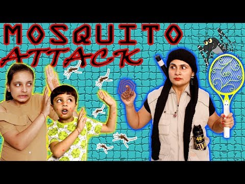 SHORT MOVIE - MOSQUITO ATTACK | MORAL STORY #Kids #Bloopers Aayu and Pihu Show