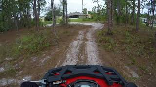 8. A few laps around the track on the Arctic Cat Alterra 300