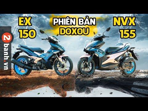 Đánh giá Exciter 150 & NVX 155 phiên bản Doxou mới ra mắt - Thời lượng: 13 phút.