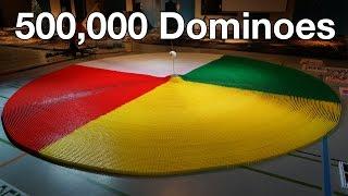 Рекорд Гиннеса - 500000 домино