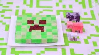 Tort Creeper z gry Minecraft