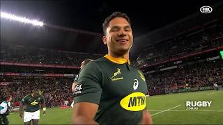 South Africa v Australia Rd.1 2019 Rugby Championship video highlights | Rugby Championship