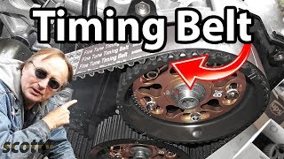 2. How To Change A Timing Belt In Your Car