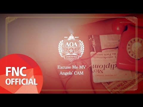 Angels' Cam #47 : AOA Excuse Me 뮤직비디오 촬영 현장