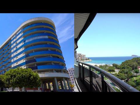 Инвестиции в недвижимость в Испании/Квартира в Бенидорме/1 линия моря/Квартиры для сдачи в аренду