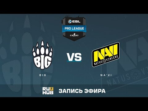 BIG vs Na'Vi - ESL Pro League S6 EU - de_train [ceh9, MintGod] (видео)