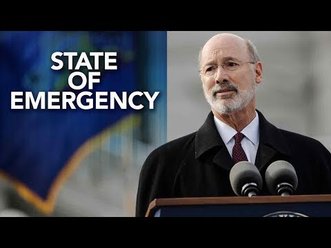 Philadelphia Winter Storm: Gov. Tom Wolf declares State of Emergency