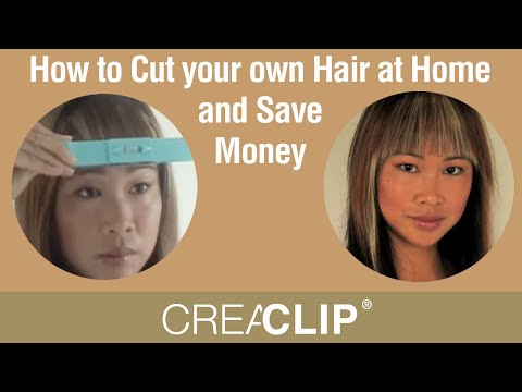 How to Cut your own Hair at Home and Save Money -Children's hair