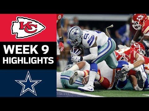Chiefs vs. Cowboys | NFL Week 9 Game Highlights - Thời lượng: 8:22.
