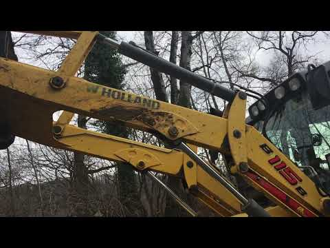 NEW HOLLAND LTD. BAGGERLADER B115B equipment video VB7ZZbSUNNk