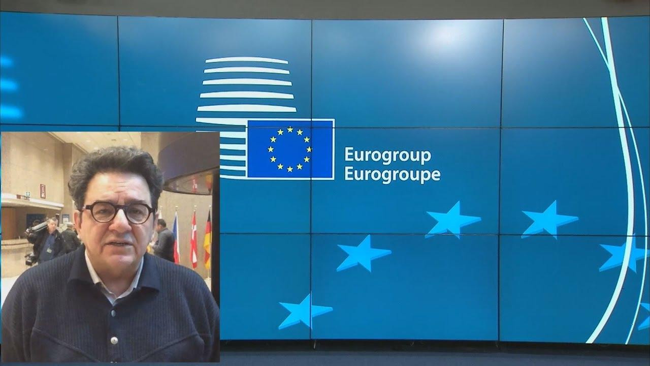 Προσκήνιο και παρασκήνιο στο Eurogroup από τον ανταποκριτή μας Μανώλη Σπινθουράκη-SKYPE