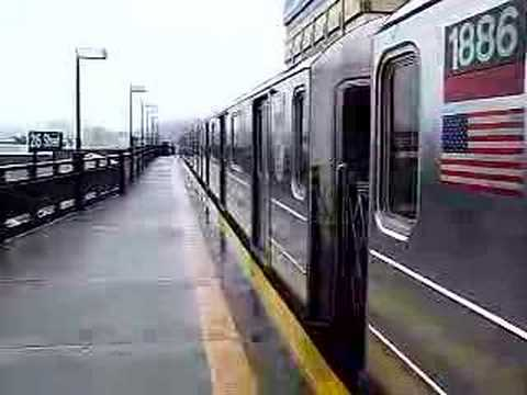 MustangFan424 - This is a video I took of a MTA NYCT (1) Train Entering 215th St.