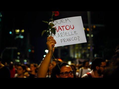 Proteste in Brasilien: Wer tötete Marielle Franco?