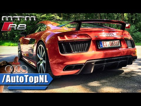 802HP Audi R8 V10 SUPERCHARGED MTM REVIEW POV Test Drive By AutoTopNL