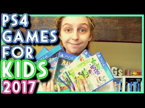 PS4 GAMES FOR KIDS 2017!! | Recommendations