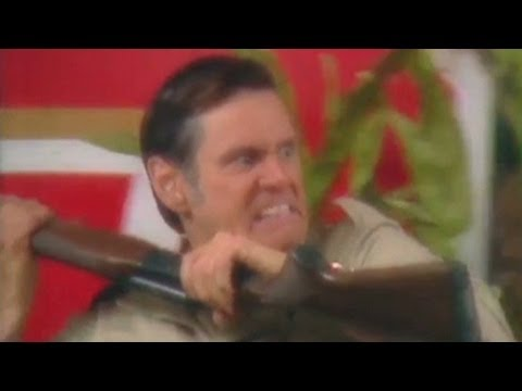 carrey - Actor and comedian Jim Carrey makes a gun parody video. CNN's Jake Tapper has more. For more CNN videos, visit our site at http://www.cnn.com/video/