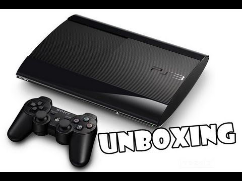 Novo PS3 - Super Slim 250GB Unboxing [PT-BR]