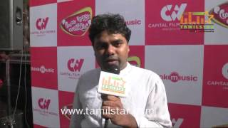 Karthikeyan Moorthi at Moone Moonu Varthai Single Track Launch