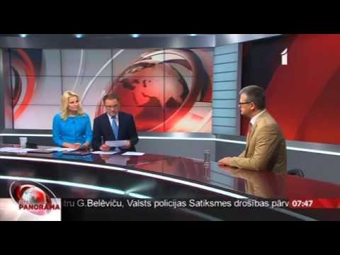 """Intervija ar veselības ministru LTV """"Rīta Panorāma"""""""