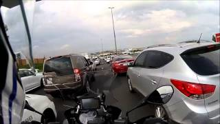 Beestekraal South Africa  city photos : BMW R1200GS Adventure - Lane Splitting Advice - South Africa