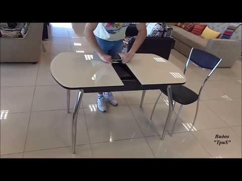 Как собрать стеклянный стол