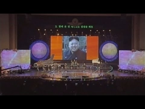 steps - Subscribe to ITN News: http://bit.ly/1bmWO8h The people of North Korea were treated on Monday to a special screening of rare childhood photos of their leader Kim Jong-un. The country's state-run...