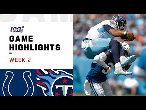 Colts vs. Titans Week 2 Highlights | NFL 2019