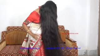 Indian Rapunzel Floor Length Hair with Front Braid