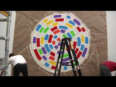 Video |  Art Institute Installations: Wall Drawing #1111 by Sol LeWitt