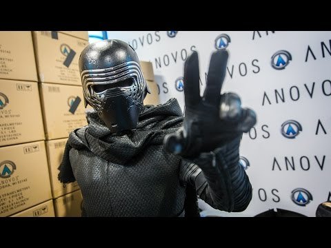 Adam Savage as Kylo Ren Incognito at Comic-Con 2016