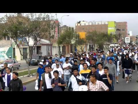 caminata del comando svr, hacia el callao 28.10.2012 - Comando SVR - Alianza Lima