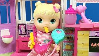 Video YENİ Baby Alive Oyuncak Bebek | Bebek Bakma Oyunu | EvcilikTV MP3, 3GP, MP4, WEBM, AVI, FLV November 2017