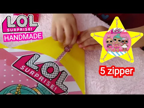 DIY Membuat LOL Surprise BINTANG 3D| LOL Surprise Handmade