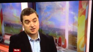 Sometimes it's better to answer the question than ignore it all together.  MD of Blackberry UK Stephen Bates on BBC Breakfast 30 Jan 2013