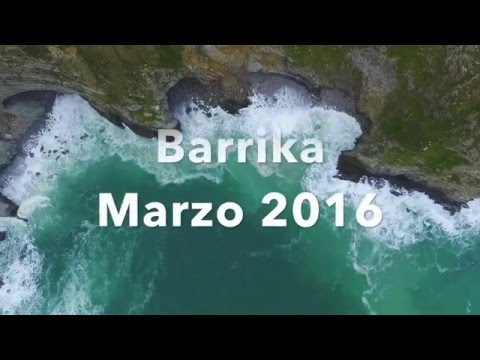 Vuelo sobre la costa de Barrika, Bizkaia (2016)