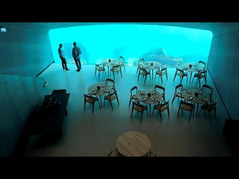 Ανοίγει το πρώτο υποβρύχιο εστιατόριο στην Ευρώπη  – ΒΙΝΤΕΟ & ΦΩΤΟ…
