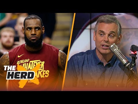 Colin Cowherd reacts to LeBron's Cavaliers losing Game 2 to the Celtics | NBA | THE HERD