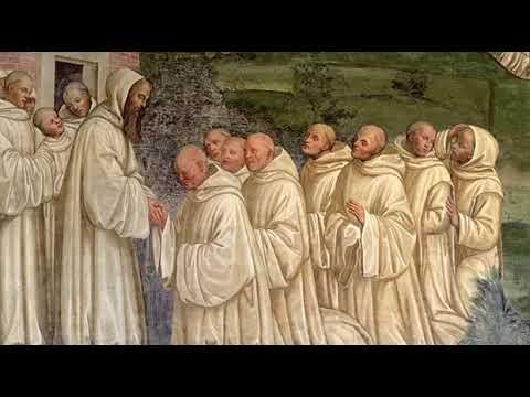 Benedictine Monks Singing Choir